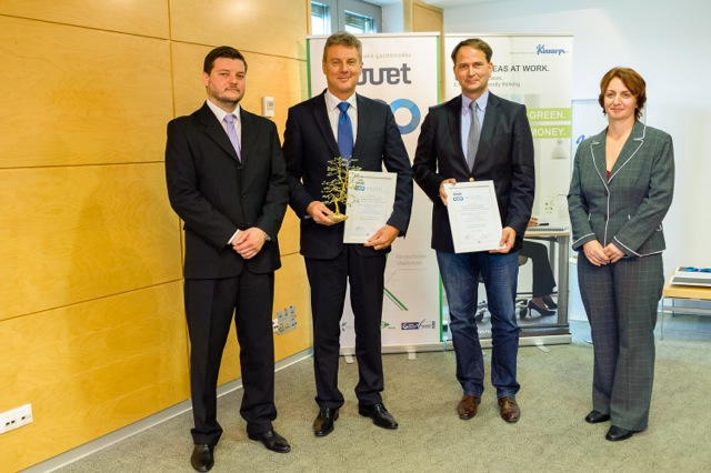 Éltex wins award for its contribution to protecting the environment