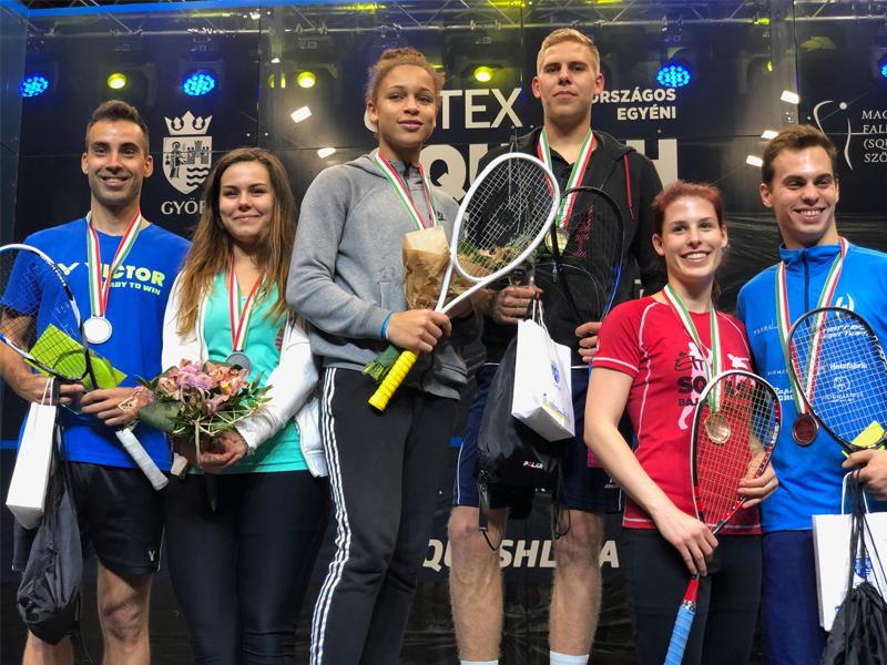Éltex 31. Országos Egyéni Squash Bajnokság Győrben